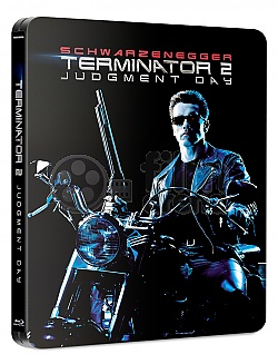 FAC #110 TERMINÁTOR 2: Den zúčtování J-CARD EDITION #4 GLOW IN THE DARK EFFECT Steelbook™ Prodloužená verze Digitálně restaurovaná verze Limitovaná sběratelská edice - číslovaná