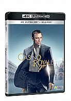 JAMES BOND 21: Casino Royale  (4K Ultra HD + Blu-ray)