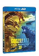 GODZILLA II KRÁL MONSTER 3D + 2D (2 Blu-ray)
